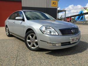 2007 Nissan Maxima J31 MY06 TI Silver 6 Speed Constant Variable Sedan