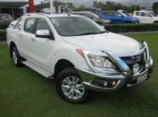 2012 MAZDA BT50 GT 3.2LT 5 CYLINDER TURBO DIESEL 6 SPEED AUTOMATIC 4 WHEEL DRIVE DUAL CAB with Leather, lockable hard lid cover, alloy bull bar and tow bar. A real nice ute, well worth a look. We are a leading Multi Franchise Dealership. With a fantastic range of ...