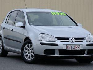 2006 Volkswagen Golf V Comfortline Silver 6 Speed Manual Hatchback