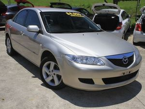 2004 Mazda 6 GG1031 MY04 Classic Champagne Gold 4 Speed Auto Seq Sportshift Sedan