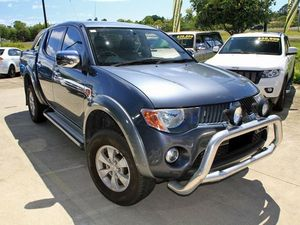 2006 Mitsubishi Triton ML MY07 GLX-R Double Cab Grey 5 Speed Manual Utility