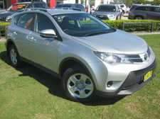 2014 TOYOTA RAV4 GX ALL WHEEL DRIVE 2.5LT 4 CYLINDER 6 SPEED AUTOMATIC WAGON with Full Size Spare Wheel option. Standard features include Reverse Camera, Reverse Sensors, Cruise Control and Bluetooth Connectivity We are a leading Multi Franchise Dealership. With a fantastic range of New and Pre-Owned cars, you ...