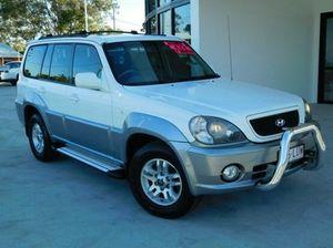 2004 Hyundai Terracan HP White Automatic Wagon
