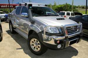 If you are after an SR5 Hilux then this is it!  2014 Built, first registered in Feb 2015, SR5 Automatic Turbo Diesel.  This great 4X4 has been kept in very good condition and is a terrific Dual Cab to drive.  Our SR5 comes very well equipped with Toyota Bullbar, Snorkel ...