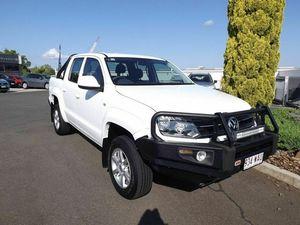 2011 Volkswagen Amarok 2H TDI400 4Mot Trendline White 6 Speed Manual Utility