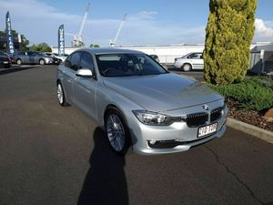 2013 BMW 320D F30 MY0813 Silver 8 Speed Sports Automatic Sedan