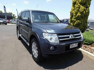 2006 Mitsubishi Pajero NS Exceed Grey 5 Speed Sports Automatic Wagon