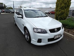 2012 Holden Commodore VE II MY12 SS White 6 Speed Manual Sedan