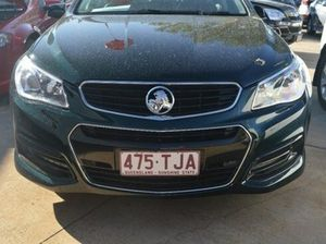 2013 Holden Commodore VF SV6 Green 6 Speed Steptronic Sedan