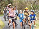 A GROUP that claims cyclists are safer without bike helmets has showcased Byron Bay as a helmet-free Mecca.