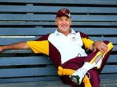 THE Australian cricket team's fielding coach Mike Young looked on at the weekend's Major League Opening Series at the SCG like a kid in a candy store.