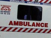 A WOMAN has sustained possible spinal injuries in a crash at Hatton Vale this afternoon.