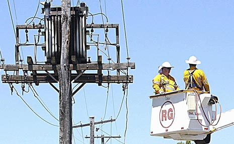 Ergon Energy will carry out works in Wilsonton today.