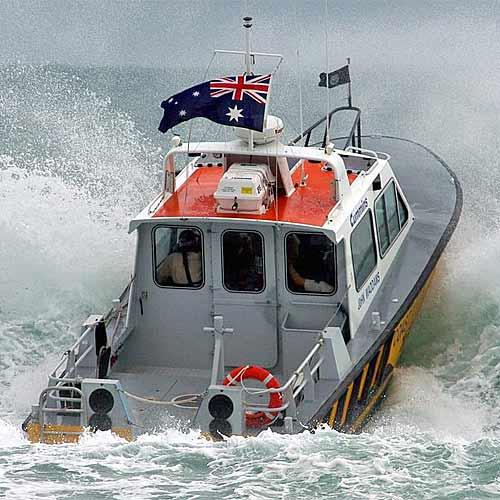 Noosa Coast Guard in action.