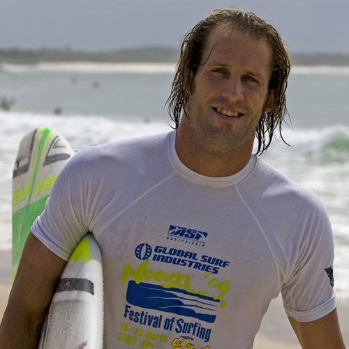Taylor Jensen after winning the Noosa Festival of Surfing Golden Breed Pro finals. Photo: Steve Robertson/Surfing Australia