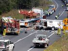 THE four-laning of the Bruce Hwy to Gympie will be fast tracked, two tiers of government announced yesterday.