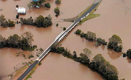 Flooding in Grafton.