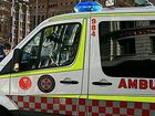 Man hospitalised after three vehicle accident