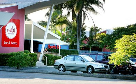 The 14-month-old was allegedly left alone in the car park of the MiHi Creek Hotel at Brassal.