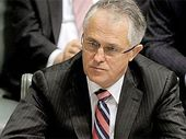 """A NEW poll shows Malcolm Turnbull leading Bill Shorten 57% to 19% as the nation's """"preferred prime minister""""."""