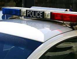 Police attend vehicle rollover