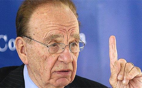 Media mogul Rupert Murdoch.