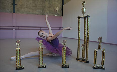 Courtney Macmillan, 13, from Amethyst Dance Studios at Moffat Beach placed 13th at the World Dance Championships in Longbeach, California.
