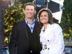 The Today Show Karl Stefanovic and Lisa Wilkinson pose for photos during their broadcast from Queens Park.