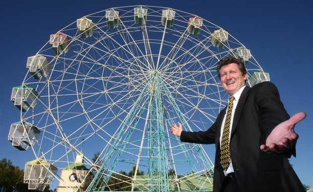 Aussie World general manager David Thompson.