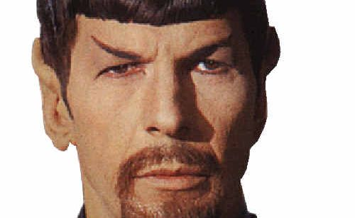 A man dressed in a Star Trek costume, similar to this, got into a spot of bother.
