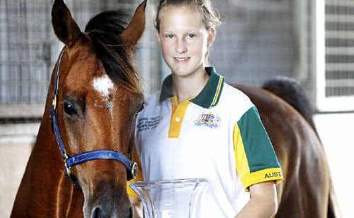 Ipswich's Australia Day sports award winner Alexandra Toft hopes to compete at the equestrian World Endurance Championships in Kentucky this year.