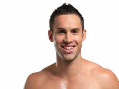 Regan Hams, of Mackay, has made it into the final six of the Australian Men's Health magazine Man competition.