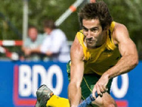 Kiel Brown's name was missing when the Kookaburras team for London was read out on Monday.