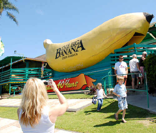 The Big Banana has put govt. funding to good use ahead of the school holidays.
