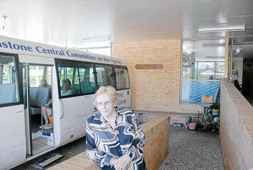 Senior citizen Margaret Shaw believes doctors and pharmacies should be a one-stop shop.