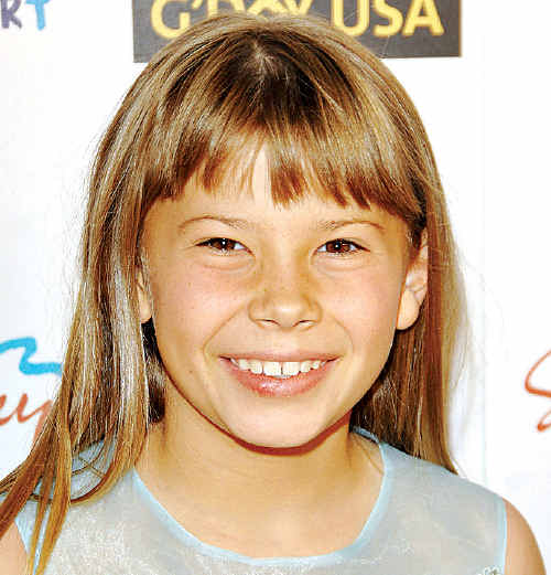 Bindi Irwin at G'Day USA: Australia Week 2008 where she met Jacob Wertheimer.