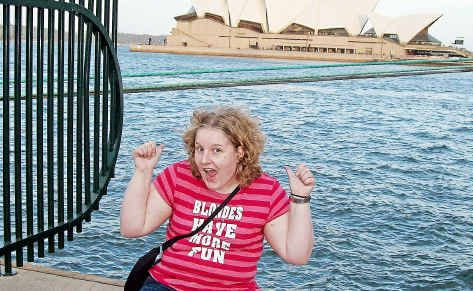 Jessica Pera always dreamed of travelling around Australia.