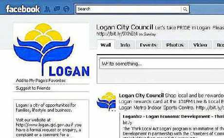Logan City Council has a Facebook page but Southern Downs Regional Council staff and councillors could be banned from using the social networking site.