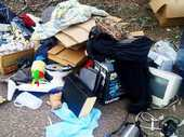 RESIDENTS who have placed items on the footpath for collection have been asked to take them back.