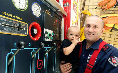 Murwillumbah Fire Brigade captain Greg Hayes will tackle fire prevention at the open day on Saturday.