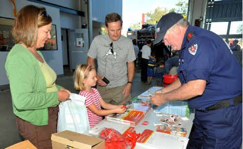 Seniors are urged to take part in this Saturday's Fire and Rescue NSW open day.