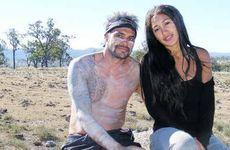 Brunswick Heads Dhinawan Baker pictured with Josephine Jobert.
