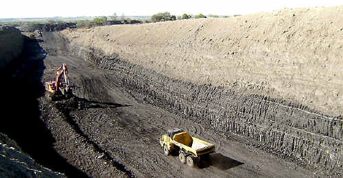 Xstrata forecast up to 30 million tonnes of coal could be pulled from the Wandoan site each year.