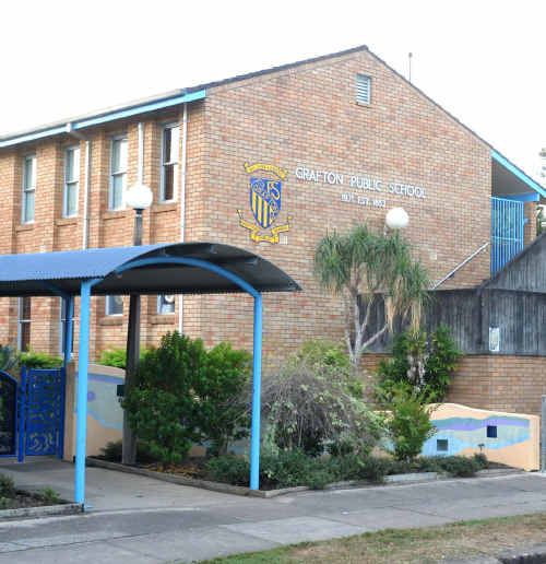 Grafton Public School is one of many not expected to open tomorrow.
