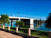 GLADSTONE'S Matthew Flinders Bridge at the marina will be closed to all vehicles and pedestrians from 5am on Tuesday while work is carried out.