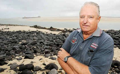 Barry Bainbridge, the president of the Elliott Heads Ratepayers and Residents Association, is pleased the Bundaberg Regional Council is acting on plans to stop the mouth of the Elliott River from silting up further.