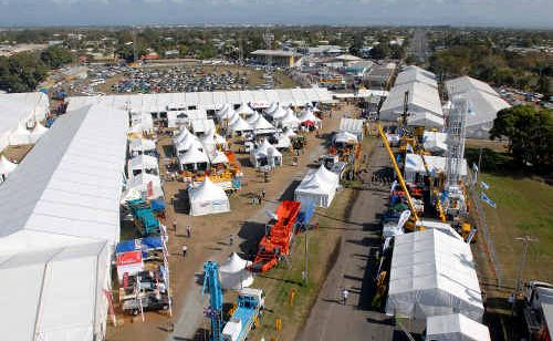 The 2010 Queensland mining Expo in Mackay.