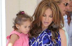 Jennifer Lopez with daughter Emme.