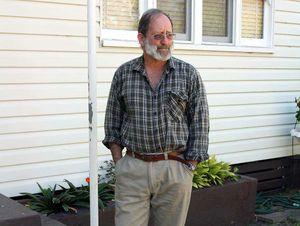 Acland's last remaining homeowner, Glen Beutel.