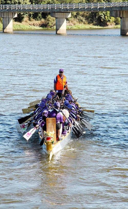 Bundy Dragons hope to make a splash in Cooloola for the final Wide Bay regatta.